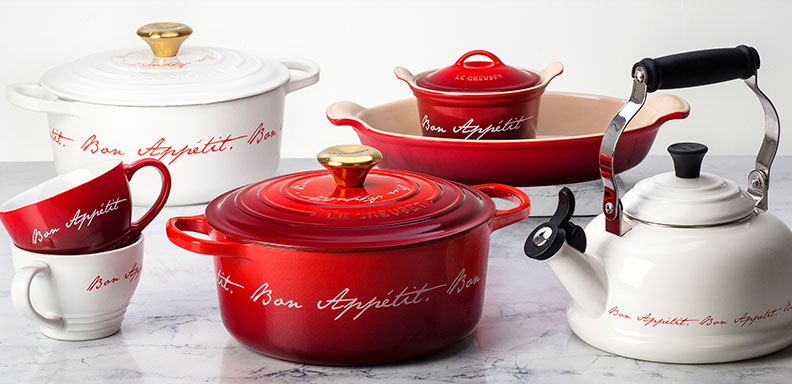 shop our Bon Appetit collection