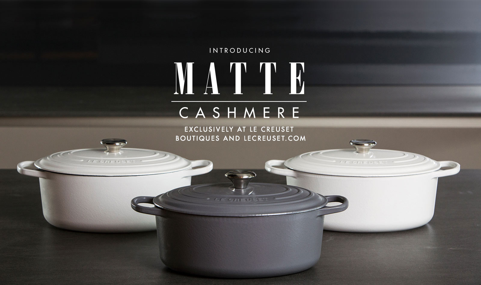 Introducing Matte Cashmere