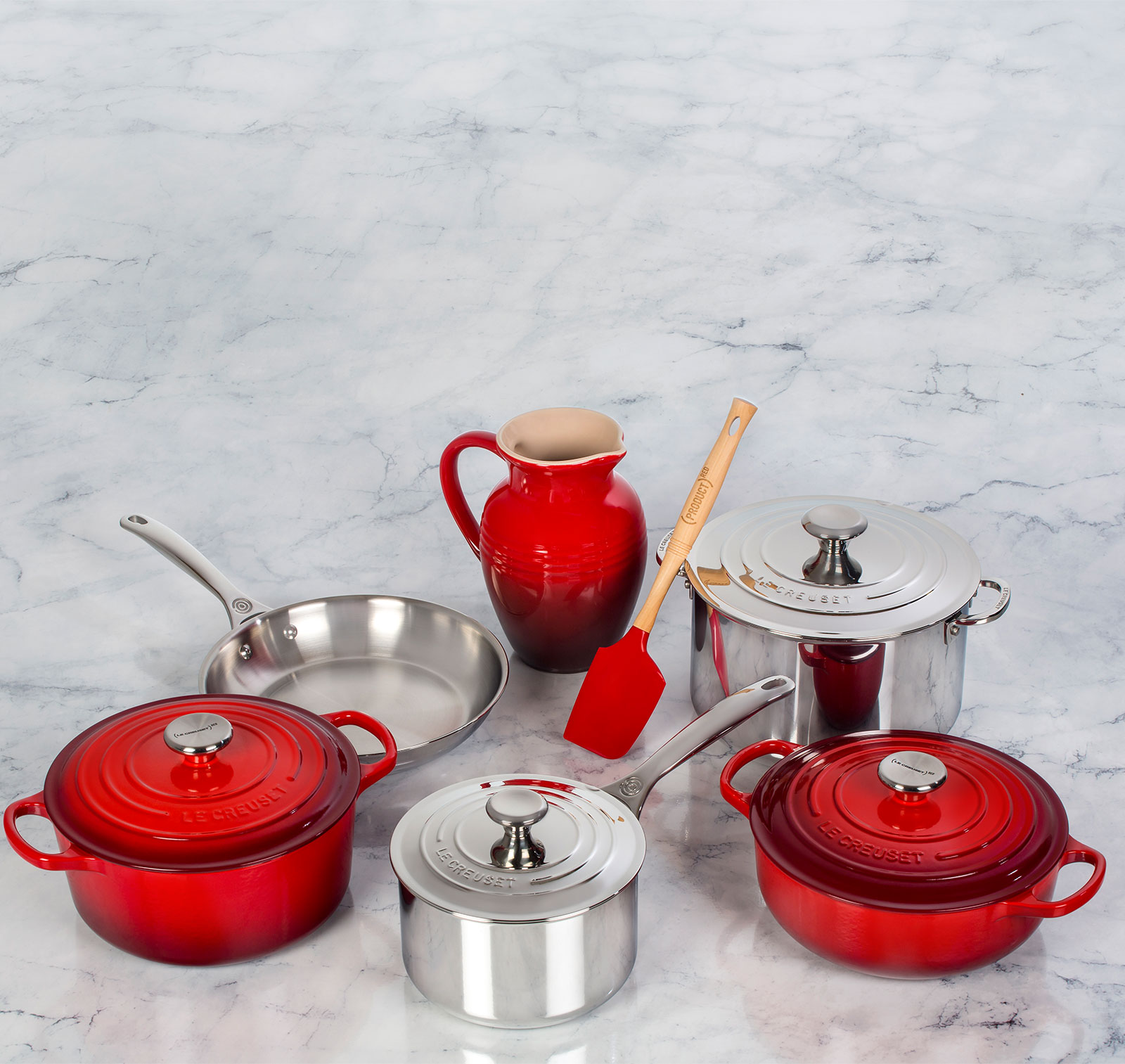 Le Creuset Red Products