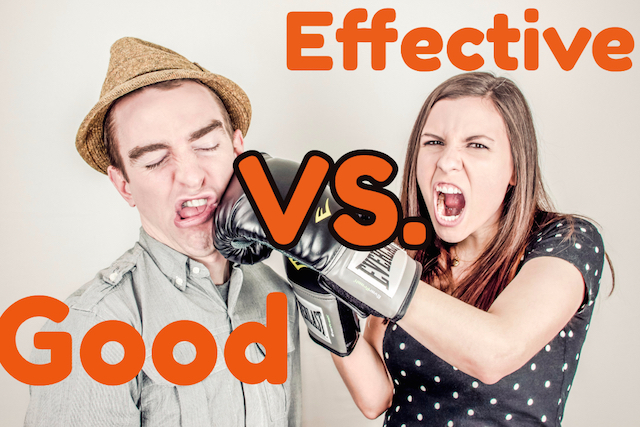 Effective vs good presentaitons