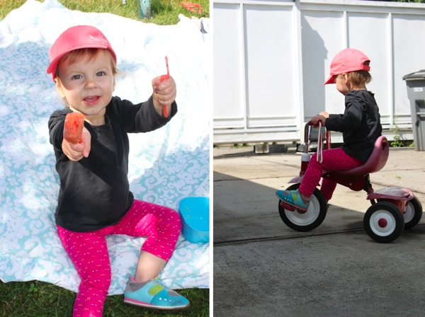 Popsicles and tricycles