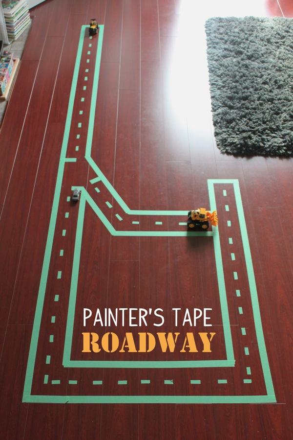 Painter s Tape Roadway