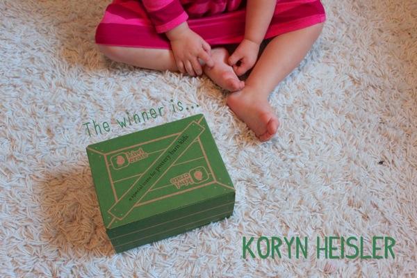 Kiwi Crate Giveaway Winner
