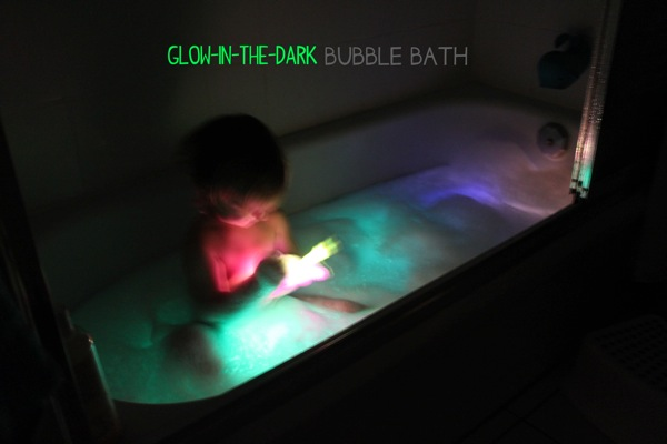 Glow in the Dark Bubble Bath