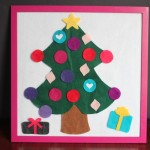 Christmas Tree Felt Board