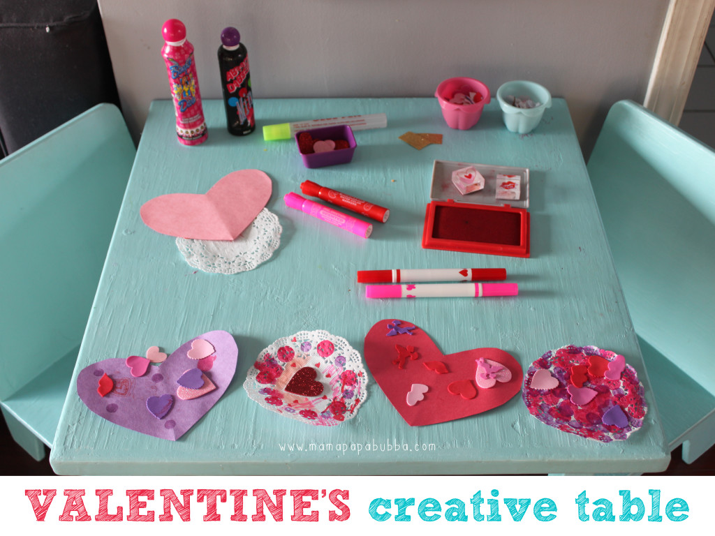 Valentine's Creative Table | Mama.Papa.Bubba.
