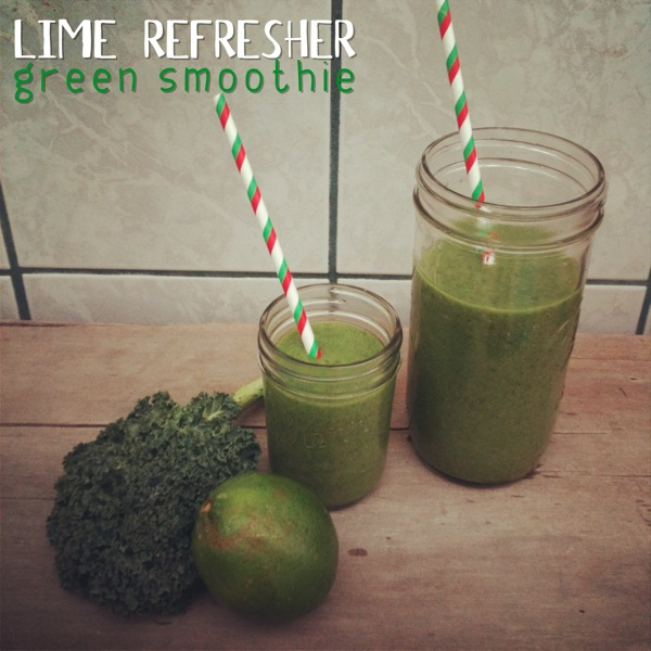 Lime Refresher Green Smoothie