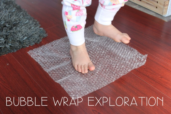 Bubble Wrap Exploration | Mama Papa Bubba