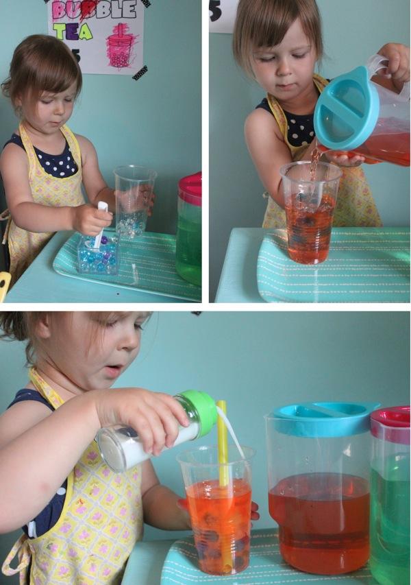 Making Bubble Tea | Mama Papa Bubba