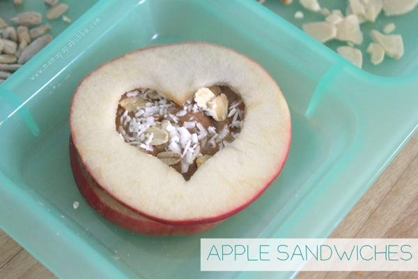 Apple Sandwiches | Mama Papa Bubba