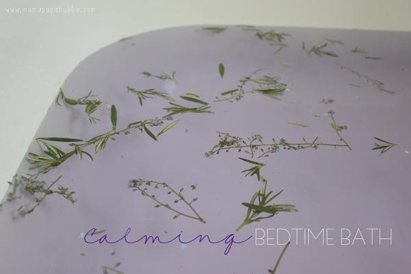 Calming Bedtime Bath | Mama Papa Bubba