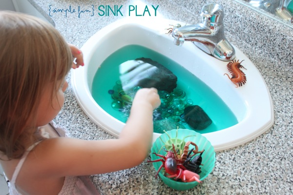 Simple Fun Sink Play | Mama Papa Bubba