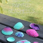 Simple Summer Fun: Seashell Painting