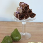 {3 Ingredient} Apple Fig Fruit Leather