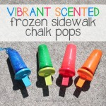 Frozen SCENTED Sidewalk Chalk Popsicles