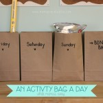 An Activity Bag a Day {while Mama's away}