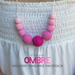 Gracen-Made Gifts: Ombre Beaded Necklaces