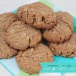 Healthier Peanut Butter Oat Cookies