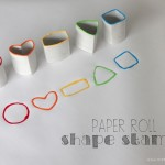 Paper Roll Shape Stamps