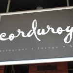Kid-Friendly Lunch at Corduroy