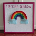 Stacking Felt Board Rainbow