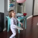 Indoor Balloon Badminton