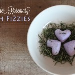 Lavender Rosemary Bath Fizzies