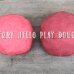 Berry Jello Play Dough
