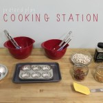 {Pretend Play} Cooking Station