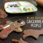 Play Dough Gingerbread People