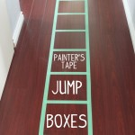 Painter's Tape Jump Boxes