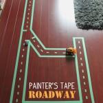 Painter's Tape Roadway