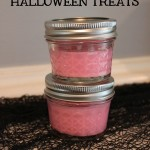 Pink Sparkly Slime Halloween Treats