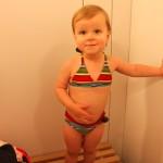 Teeny Tiny Striped Bikini
