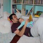 Story Time with Papa ~468 days old