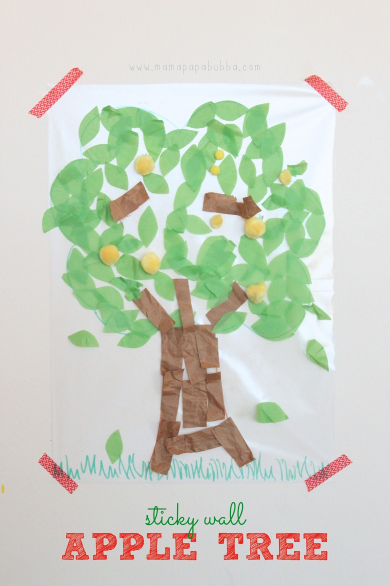 Sticky Wall Apple Tree | Mama Papa Bubba