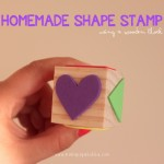 A Homemade Shape Stamp