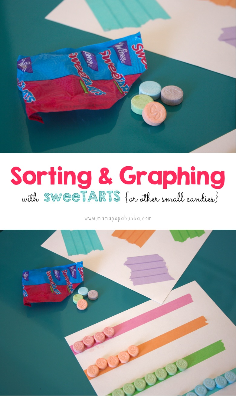Sorting  Graphing With SweeTARTS  or other small candies