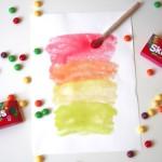 Glossy Skittles Paint