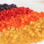SPARKLY Coloured Pasta for Beading, Crafting, and Sensory Play