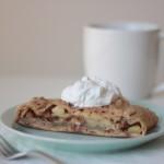 Wholewheat Sugarless Apple Strudel {a bake off}