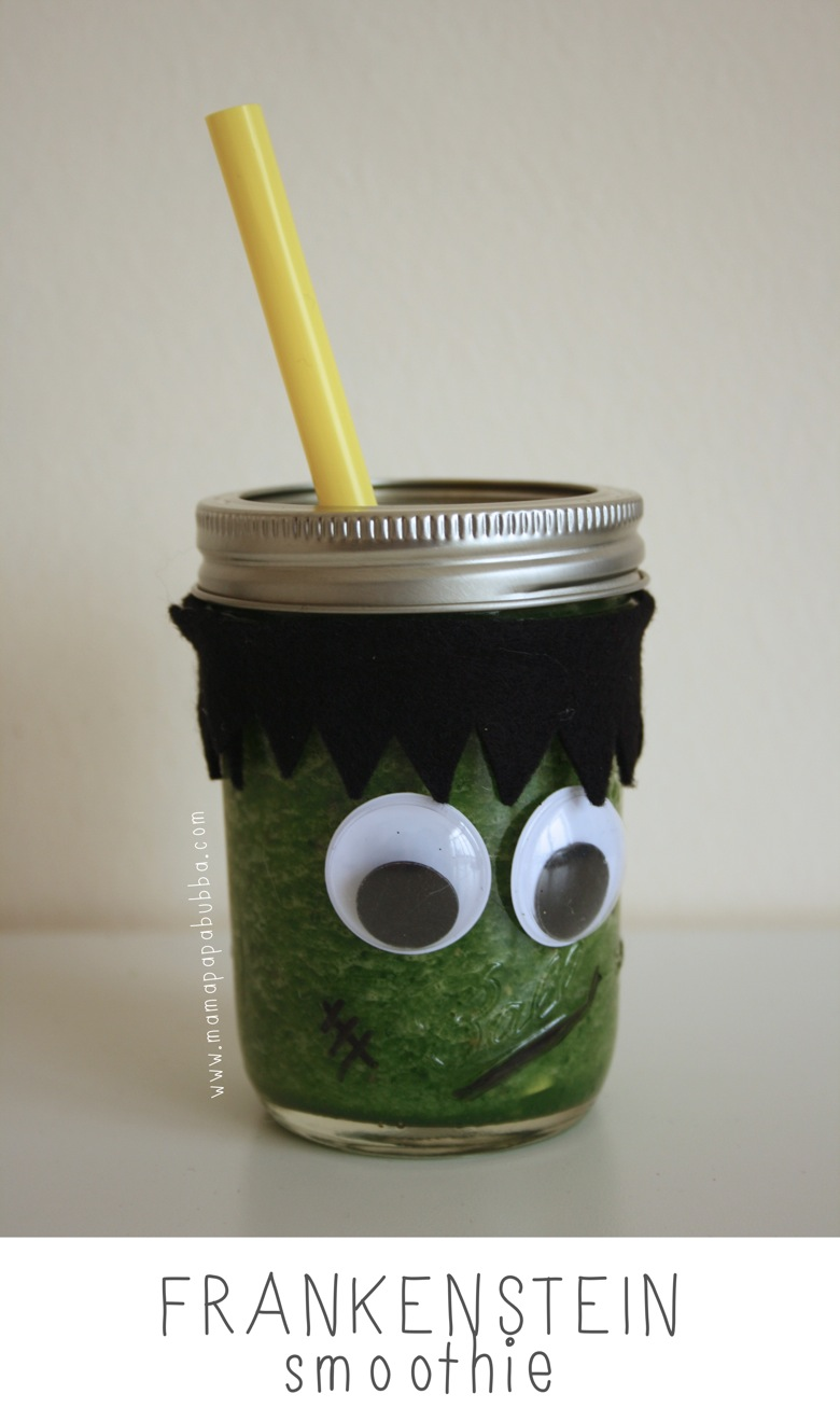frankenstein mason jar craft frankenstein smoothie papa bubba 4503