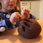 Super Simple No-Cook Chocolate Play Dough