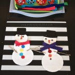 Snowman Building Creative Table