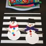 Snowman Building Creative Table