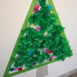 {Life Size} Sticky Christmas Tree