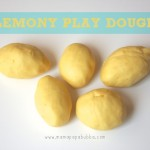 Lemony Play Dough