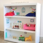A Bookshelf Dollhouse for Miss G