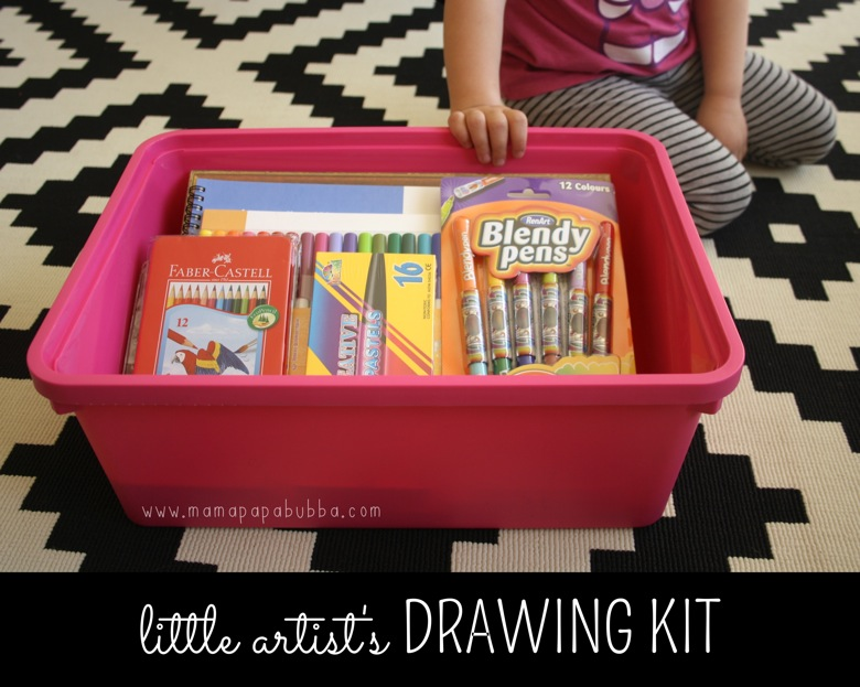 Little Artist s Drawing Kit | Mama Papa Bubba
