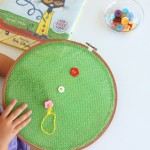 Pete the Cat and His Four Groovy Buttons:  A Sewing Activity